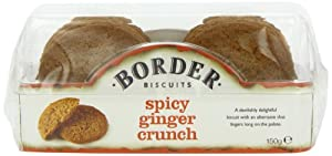 Border Biscuits Spicy Ginger Crunch (pack of 6)