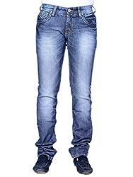 Moka Blue Denim Slim Stretchable Jean