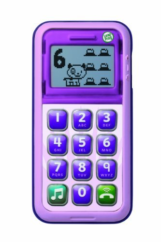 LeapFrog Enterprises Genuine Chat and Count Cell Phn Violet