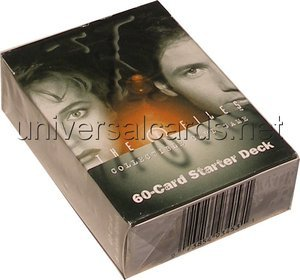 x-files collectible card game 60-card starter deck