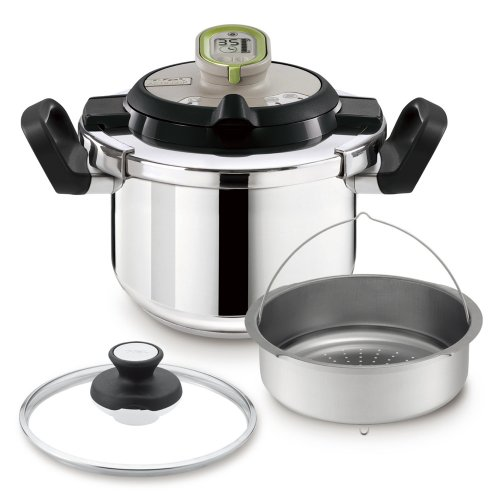 T-fal [Cooking Time and Condition of Fire Announcement Timer with Pressure Cooker] Activision Cook Simply 4l P4330475