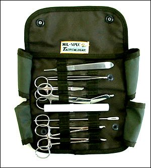 U.S. Military Field Style Medic Surgical Instrument Kit