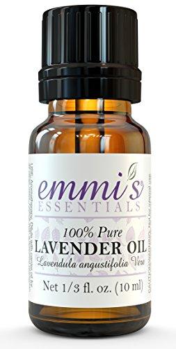 Lavender Essential Oil by Emmi's Essentials ~ (lavendula angustifolia vera) ~ 10 ml