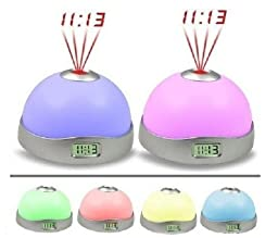 HK Colorful magic magical Star Sky LED projection Alarm clock
