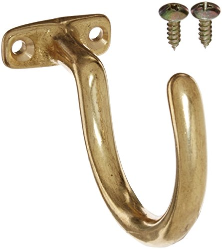 Big Save! Imperial Billiard/Pool Cue Accessory: Bridge Stick and Ball Rack Hook, Solid Brass