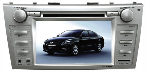 """""""Factory Fit"""" In-Dash Navigation & Multimedia System With 7 Inch High Res Tft/Lcd Touch Screen Display For Toyota Camry"""