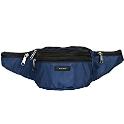 Aoking Blue Waist Pouch Belt Multipupose