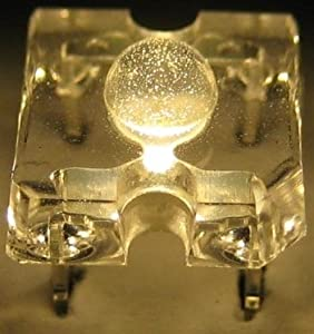 10 SuperFlux LED warm-weiß - 3mm Linse Piranha SET by world-trading-net