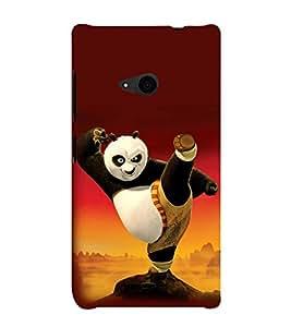 printtech Kungfu Panda Back Case Cover for Nokia Lumia 535::Microsoft Lumia 535