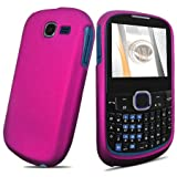 Rose Pink Rubberized Hard Case for Samsung SGH-A187 AT&T