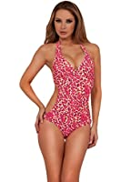 Hot from Hollywood Women's Halter Side Cut Out Monokini