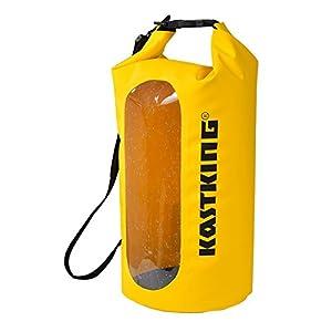 NEW! KastKing Waterproof Dry Bag for Kayak, Fishing, Canoeing or Camping Trips - Tough Durable 100% Waterproof Floating Roll Top Dry Bag.