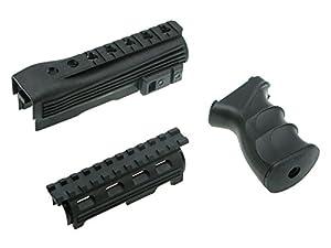 Begadi Tactical Kit für Softair / Airsoft AK Modelle - bestehend aus Griff & Handschutz mit Rail