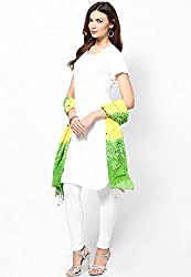 Soundarya Ethnicwear Cotton Bandhej Handwork Dupatta for Women (3055)