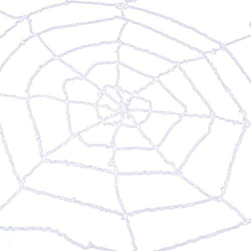 Binmer(TM) Halloween Spider Web CobWeb Net Home Bar Cosplay Party Decoration (White)
