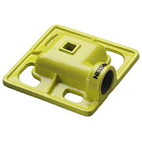 Nelson Cast Iron Square Spray Pattern Stationary Sprinkler Head 50951