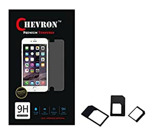 Chevron 0.3mm Tempered Glass Screen Guard Protector For LG Google Nexus 5 With Multi Sim Adapter