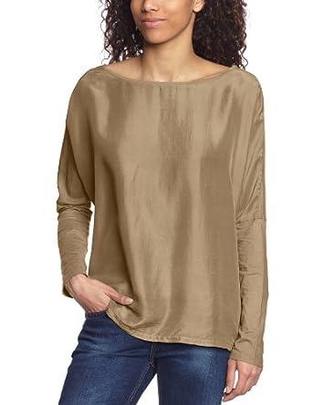 Mason's Damen T-Shirt 4MA4100 J306, Gr. 42 (IT: 48),  Beige (camel 298)