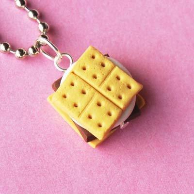 Handmade Smore Necklace