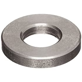 "18-8 Stainless Steel Flat Washer, 1"" Hole Size, 0.813"" ID, 1.469"" OD, 0.219"" Nominal Thickness, Made in US"