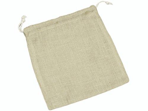 knorr-prandell-36-x-32-cm-naturale-iuta-tela-bag-con-nastro-colorato-bow-beige