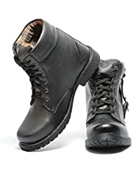 Pede Milan Shoes No-202 Synthetic Leather Boots For Men