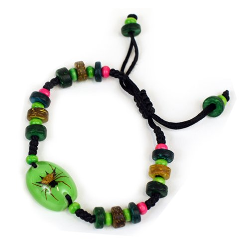 Spiny Spider Bracelet, Green