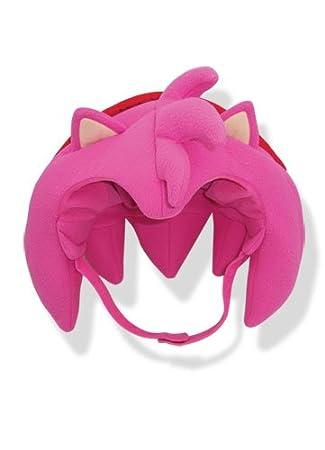 Sonic the Hedgehog Amy BIG Hair Fleece Cap