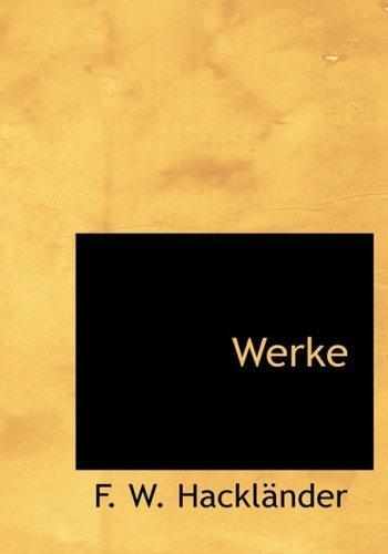 Werke (Large Print Edition)