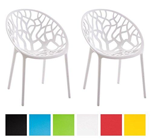 CLP-2er-Set-Design-Gartenstuhl-HOPE-praktischer-Kunststoff-Stapelstuhl-fr-drinnen-drauen-bis-zu-6-Farben-whlbar-wei