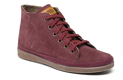 NATURAL WORLD SNEAKER DONNA INVERNALE ART 608 (36, BORDEAUX)