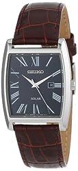 Seiko Men's SUT889 Dress-Solar Classic Strap Watch