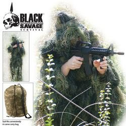 Ghillie Suit 5 PC Woodland