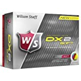 Wilson Staff Dx2 WGWP27200 Men's Soft Golf Balls Yellow