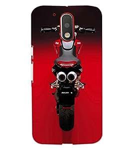 Printdhaba Stunning Bike D-1153 Back Case Cover For Motorola Moto G4