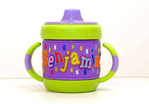 Personalized Sippy Cup: Benjamin front-280584