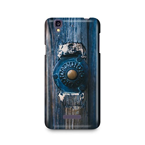 Motivatebox - Unique antique Door Knob Micromax YU Yureka cover- Matte Polycarbonate 3D Hard case Mobile Cell Phone Protective BACK CASE COVER. Hard Shockproof Scratch-Proof Accessories