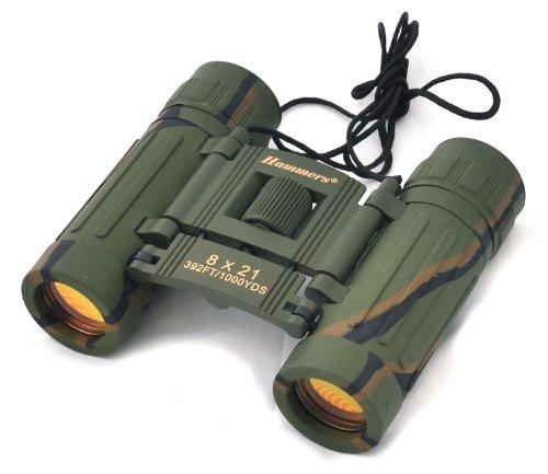 Hammers Compact Camouflage Camo Folding Binocular 8X21