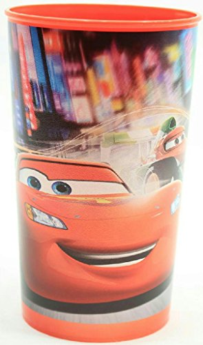 (Pack of 2) Cartoon Character Plastic Drinking Cup (Cars) by Greenbrier