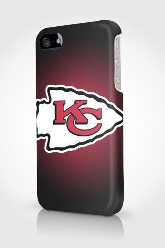 i50186 NFL Kansas City Chiefs logo Glossy Case Cover For Apple IPHONE 4 4S at Amazon.com