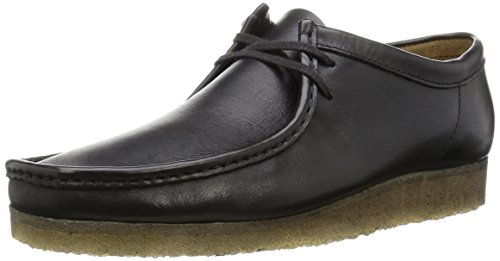 clarks-wallabee-mens-derby-lace-up-black-noir-black-leather-9-uk-43-eu