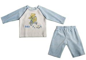 Disney - azul de 80% algodón 20% poliéster, talla: 68cm (6-9 meses)