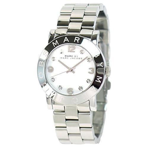 [マークバイマーク]MARC BY MARC JACOBS レディース 腕時計 Amy エイミー MBM3054 シルバー×ホワイト【並行輸入品】