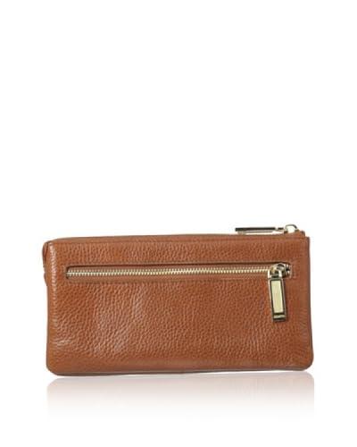 Zenith Women's Zip Wallet, Tan