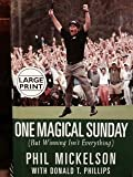 img - for One Magical Sunday (But Winning Isn't Everything) Large Print hardback book / textbook / text book
