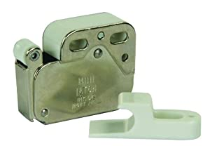 JR Products 70455 Push to Open Touch Latch