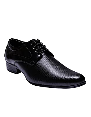 Sir Corbett Men's Black Formal Shoe