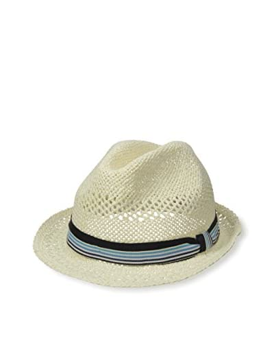 Rossovivo Men's Johnny Hat, Off-White