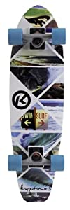 Buy Kryptonics Cruiser Board Killersesh Complete Skateboard, 28 x 7.5-Inch by Kryptonics
