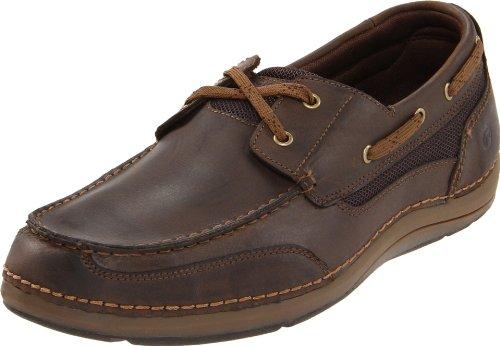 Rockport, Scarpe da barca uomo, marrone (Dark Brown), 44 EU